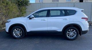 2019 Hyundai Santa Fe TM MY19 Active White Cream 8 Speed Sports Automatic Wagon