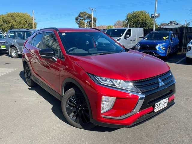 Used Mitsubishi Eclipse Cross YA MY20 Black Edition 2WD Hillcrest, 2020 Mitsubishi Eclipse Cross YA MY20 Black Edition 2WD Diamond Red 8 Speed Constant Variable Wagon