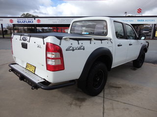 2008 Ford Ranger PJ 07 Upgrade XL (4x4) Abalone White 5 Speed Manual Dual Cab Chassis