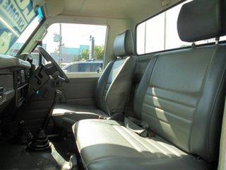 2003 Toyota Landcruiser HZJ79R White 5 Speed Manual Cab Chassis