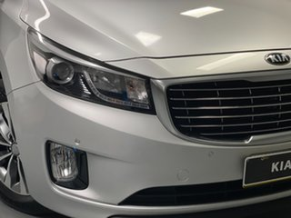 2016 Kia Carnival YP MY17 SLi Silver 6 Speed Sports Automatic Wagon.