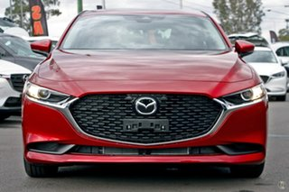 2021 Mazda 3 BP2S7A G20 SKYACTIV-Drive Pure Red 6 Speed Sports Automatic Sedan.