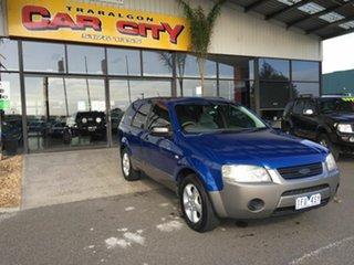 2008 Ford Territory SY MY07 Upgrade TS (RWD) Blue 4 Speed Auto Seq Sportshift Wagon.