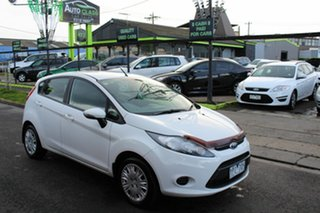 2011 Ford Fiesta WT CL PwrShift White 6 Speed Sports Automatic Dual Clutch Hatchback