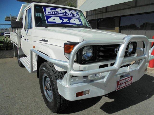 Used Toyota Landcruiser HZJ79R Edwardstown, 2003 Toyota Landcruiser HZJ79R White 5 Speed Manual Cab Chassis