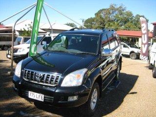 2006 Toyota Landcruiser Prado Black Automatic Wagon.