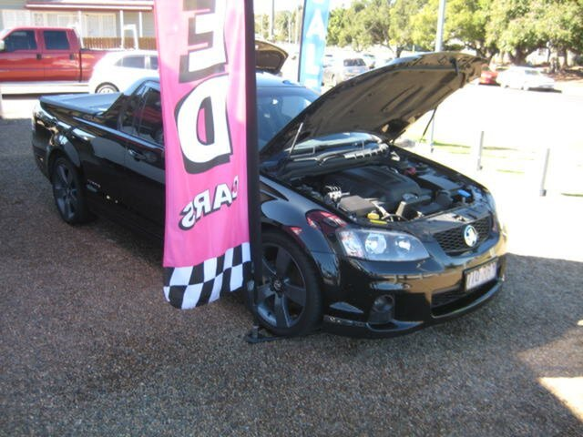 Used Holden Commodore VE Thunder North Ipswich, 2011 Holden Commodore VE Thunder Black 6 Speed Manual Utility