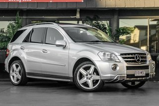 2009 Mercedes-Benz M-Class W164 MY10 ML350 Silver 7 Speed Sports Automatic Wagon.