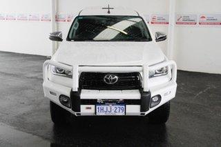 2020 Toyota Hilux GUN126R SR5 Double Cab Glacier White 6 Speed Sports Automatic Utility.