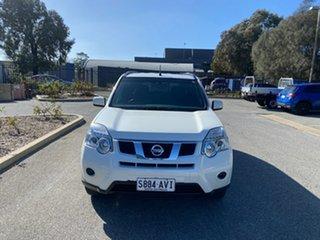 2012 Nissan X-Trail T31 Series V ST 2WD White 6 Speed Manual Wagon.