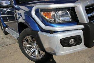 2009 Ford Ranger PK Wildtrak Crew Cab Blue 5 Speed Automatic Utility.