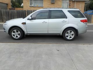 2012 Ford Territory SZ TX (4x4) Silver 6 Speed Automatic Wagon