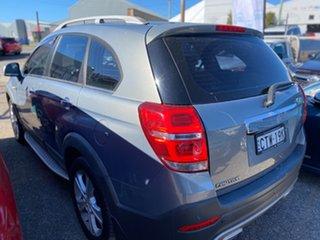 2014 Holden Captiva CG MY14 7 AWD LTZ Grey Metallic 6 Speed Sports Automatic Wagon.