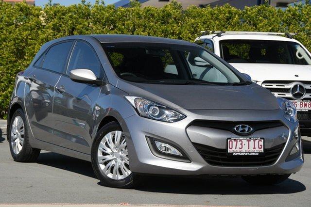 Used Hyundai i30 GD Active Aspley, 2013 Hyundai i30 GD Active Grey 6 Speed Sports Automatic Hatchback