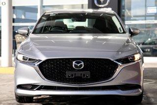 2021 Mazda 3 BP2S7A G20 SKYACTIV-Drive Touring Silver 6 Speed Sports Automatic Sedan.