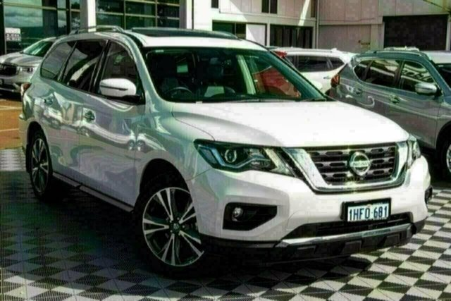 Used Nissan Pathfinder R52 Series III MY19 Ti X-tronic 4WD Attadale, 2020 Nissan Pathfinder R52 Series III MY19 Ti X-tronic 4WD Ivory Pearl 1 Speed Constant Variable