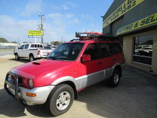 1999 Nissan Terrano II - TI Red 5 Speed Manual Wagon
