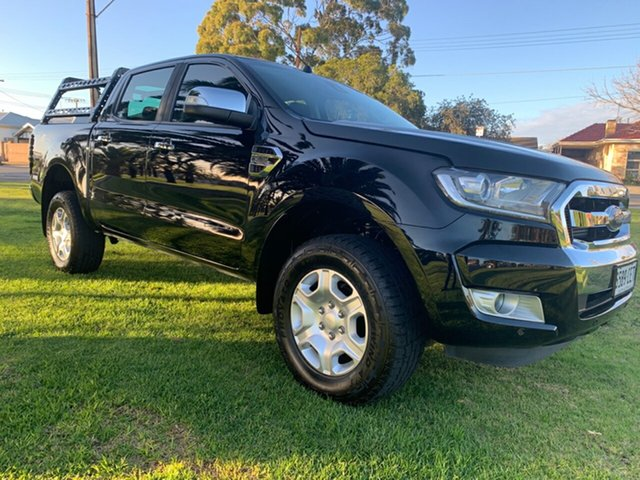 Used Ford Ranger PX MkII XLT Double Cab Cheltenham, 2017 Ford Ranger PX MkII XLT Double Cab Black/Grey 6 Speed Manual Utility