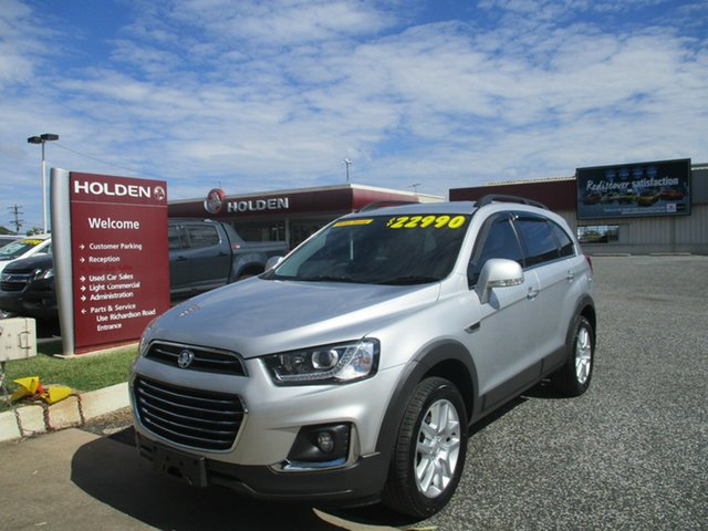 Used Holden Captiva CG MY17 Active 2WD North Rockhampton, 2017 Holden Captiva CG MY17 Active 2WD Silver 6 Speed Sports Automatic Wagon