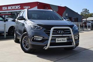 2016 Hyundai Santa Fe DM3 MY17 Active Titanium Silver 6 Speed Sports Automatic Wagon.