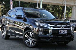 2021 Mitsubishi ASX XD MY21 XLS Plus 2WD Black 1 Speed Constant Variable Wagon.