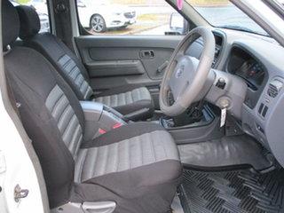 2004 Nissan Navara D22 Series 2 DX White 5 Speed Manual Dual Cab
