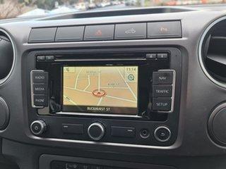 2014 Volkswagen Amarok 2H MY14 TDI420 4Motion Perm Highline White 8 Speed Automatic Utility.