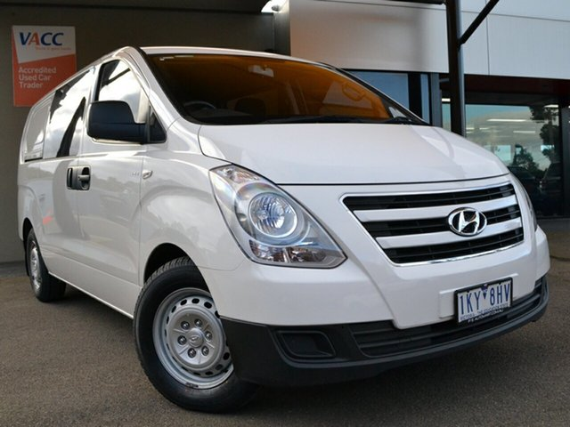 Used Hyundai iLOAD TQ3-V Series II MY17 Crew Cab Fawkner, 2017 Hyundai iLOAD TQ3-V Series II MY17 Crew Cab White 5 Speed Automatic Van