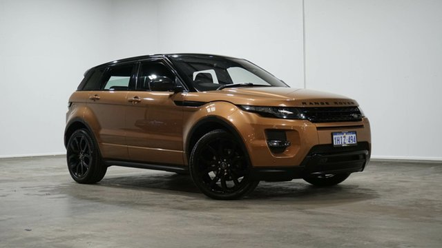 Used Land Rover Range Rover Evoque L538 MY15 Dynamic Welshpool, 2015 Land Rover Range Rover Evoque L538 MY15 Dynamic Bronze 9 Speed Sports Automatic Wagon