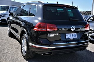 2016 Volkswagen Touareg 7P MY16 150TDI Tiptronic 4MOTION Element Deep Black 8 Speed Sports Automatic