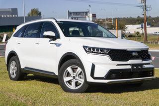 2021 Kia Sorento MQ4 MY21 S AWD Clear White 8 Speed Sports Automatic Dual Clutch Wagon.