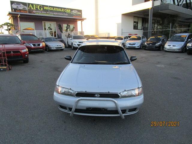 Used Subaru Liberty GX (AWD) Coorparoo, 1996 Subaru Liberty GX (AWD) Silver 5 Speed Manual Wagon