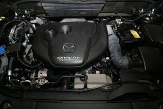 2018 Mazda CX-8 KG4W2A Asaki SKYACTIV-Drive i-ACTIV AWD Blue 6 Speed Sports Automatic Wagon