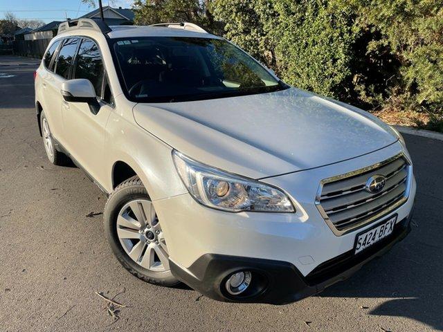 Used Subaru Outback B6A MY15 2.0D CVT AWD Glenelg, 2015 Subaru Outback B6A MY15 2.0D CVT AWD White 7 Speed Constant Variable Wagon
