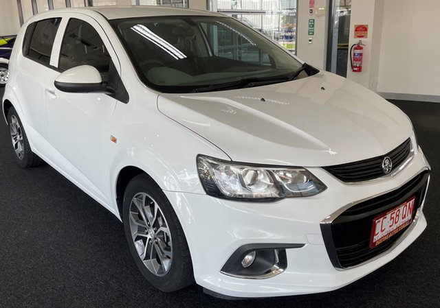 Used Holden Barina TM MY18 LS Winnellie, 2017 Holden Barina TM MY18 LS White 6 Speed Automatic Hatchback