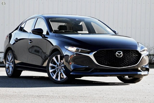 New Mazda 3 BP2SLA G25 SKYACTIV-Drive GT Waitara, 2021 Mazda 3 BP2SLA G25 SKYACTIV-Drive GT Blue 6 Speed Sports Automatic Sedan