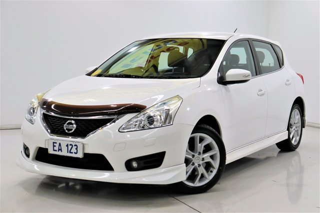 Used Nissan Pulsar C12 SSS Brooklyn, 2013 Nissan Pulsar C12 SSS White 1 Speed Constant Variable Hatchback