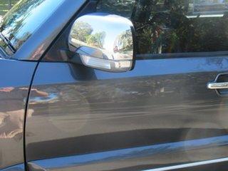 2012 Mitsubishi Pajero NW MY12 Platinum Grey 5 Speed Sports Automatic Wagon