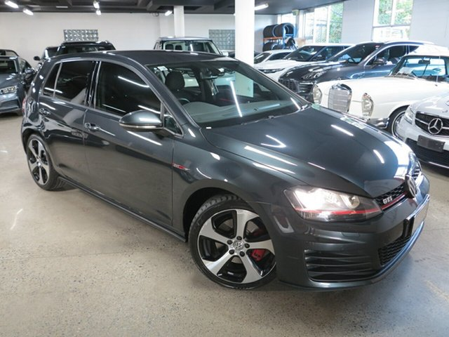 Used Volkswagen Golf VII MY16 GTI DSG Albion, 2016 Volkswagen Golf VII MY16 GTI DSG Grey 6 Speed Sports Automatic Dual Clutch Hatchback