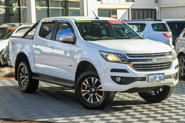 Used Holden Colorado RG MY17 LTZ Pickup Crew Cab Attadale, 2016 Holden Colorado RG MY17 LTZ Pickup Crew Cab White 6 Speed Sports Automatic Utility