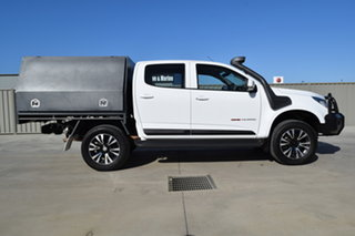 2015 Holden Colorado RG MY15 LS Crew Cab White 6 Speed Manual Cab Chassis