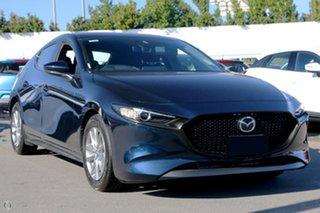 2021 Mazda 3 BP2H7A G20 SKYACTIV-Drive Pure Blue 6 Speed Sports Automatic Hatchback.