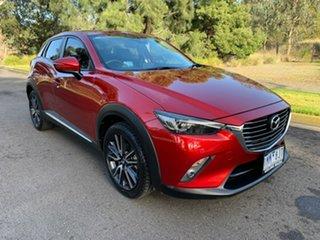 2017 Mazda CX-3 DK AKARI Red Sports Automatic Wagon.