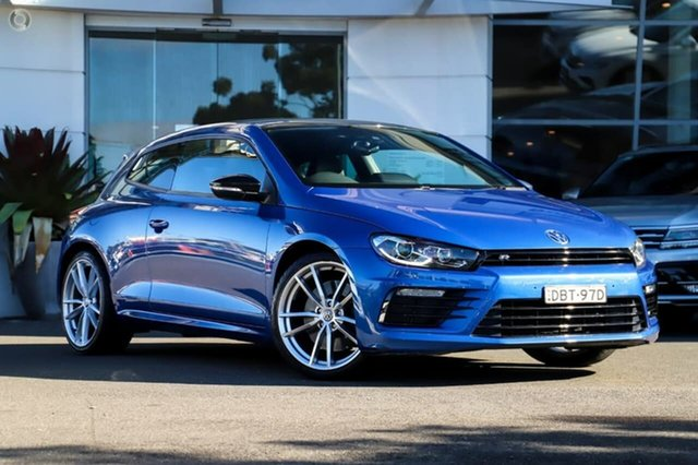 Used Volkswagen Scirocco 1S MY15 R Coupe DSG Sutherland, 2015 Volkswagen Scirocco 1S MY15 R Coupe DSG Blue 6 Speed Sports Automatic Dual Clutch Hatchback