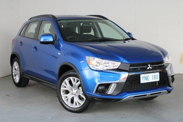 Used Mitsubishi ASX XC MY19 ES 2WD Phillip, 2019 Mitsubishi ASX XC MY19 ES 2WD Blue 1 Speed Constant Variable Wagon