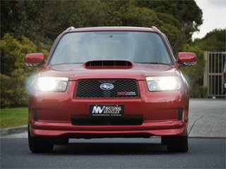 2005 Subaru Forester SG5 Cross Sport Red 4 Speed Automatic Wagon.