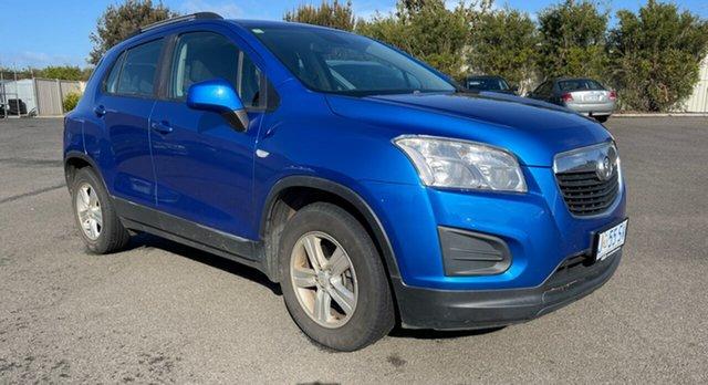 Used Holden Trax TJ MY16 LS Devonport, 2016 Holden Trax TJ MY16 LS Boracay Blue 6 Speed Automatic Wagon