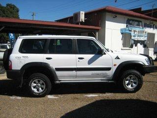 2002 Nissan Patrol White Automatic Wagon.
