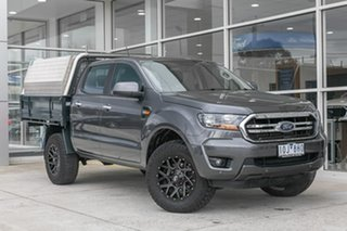 2018 Ford Ranger PX MkIII 2019.00MY XLS Grey 6 Speed Sports Automatic Utility.