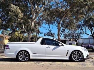 2014 Holden Ute VF MY14 SS V Ute White 6 Speed Sports Automatic Utility.